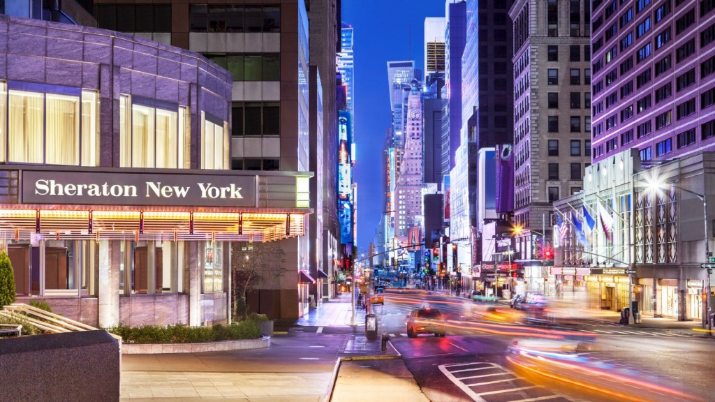 SPG Hot Escapes - Sheraton New York