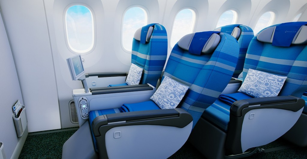 Miles & More Meilen sammeln - LOT Premium Economy Class
