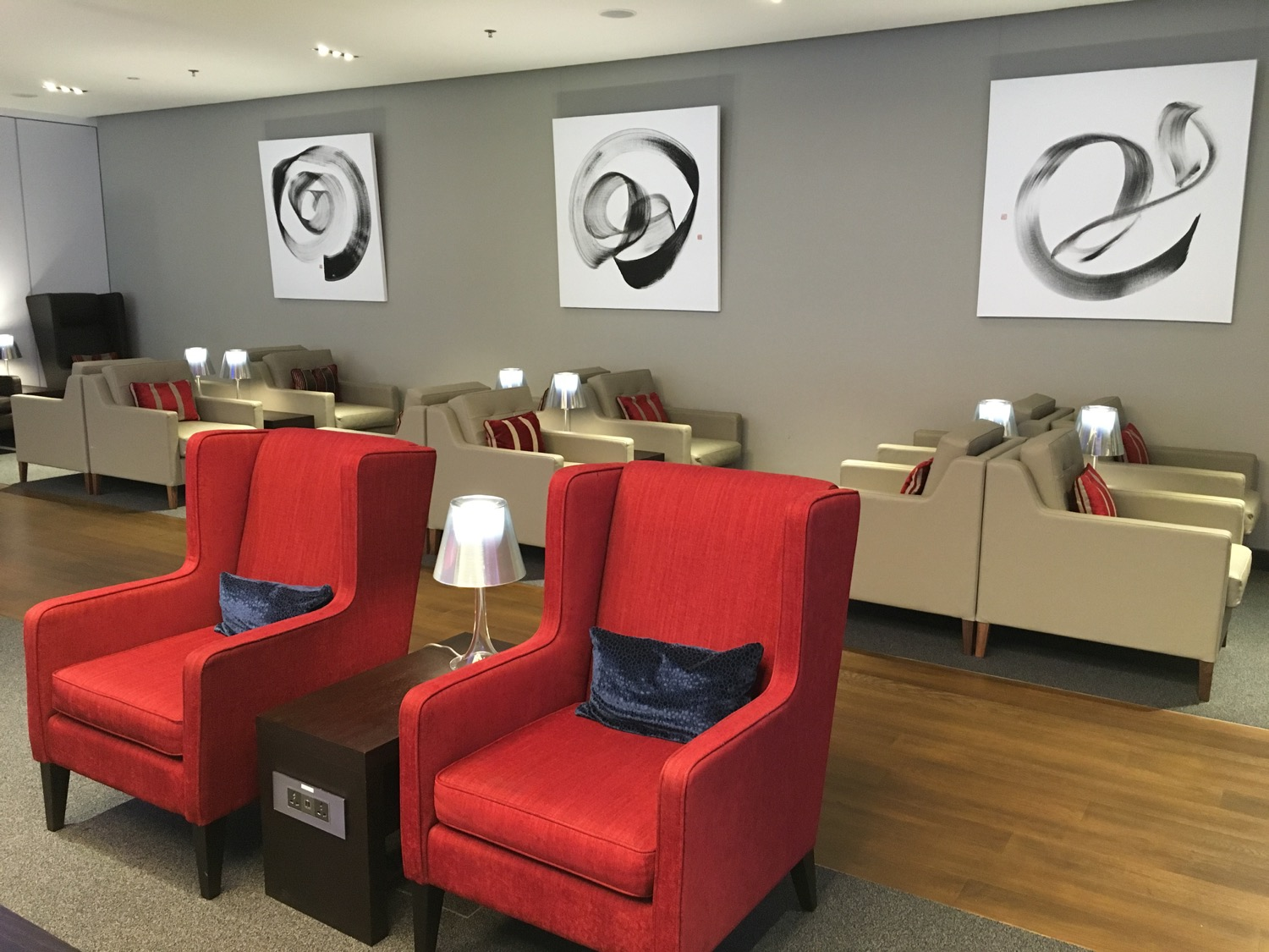 Britisch Airways Singapur Lounge