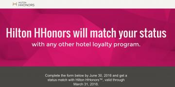 Hilton Statusmatch