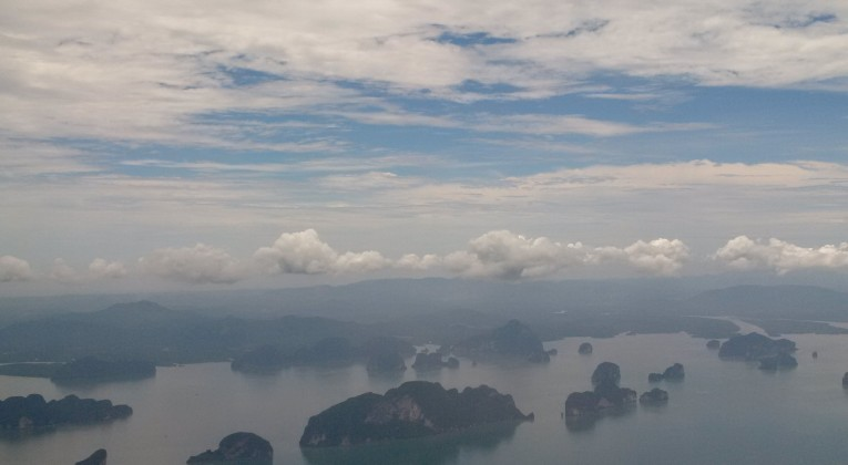 Thai Airways Business Class Bangkok - Phuket Ausblick