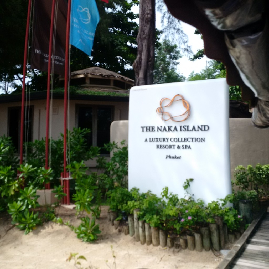 The Naka Island Phuket - Resorteingang