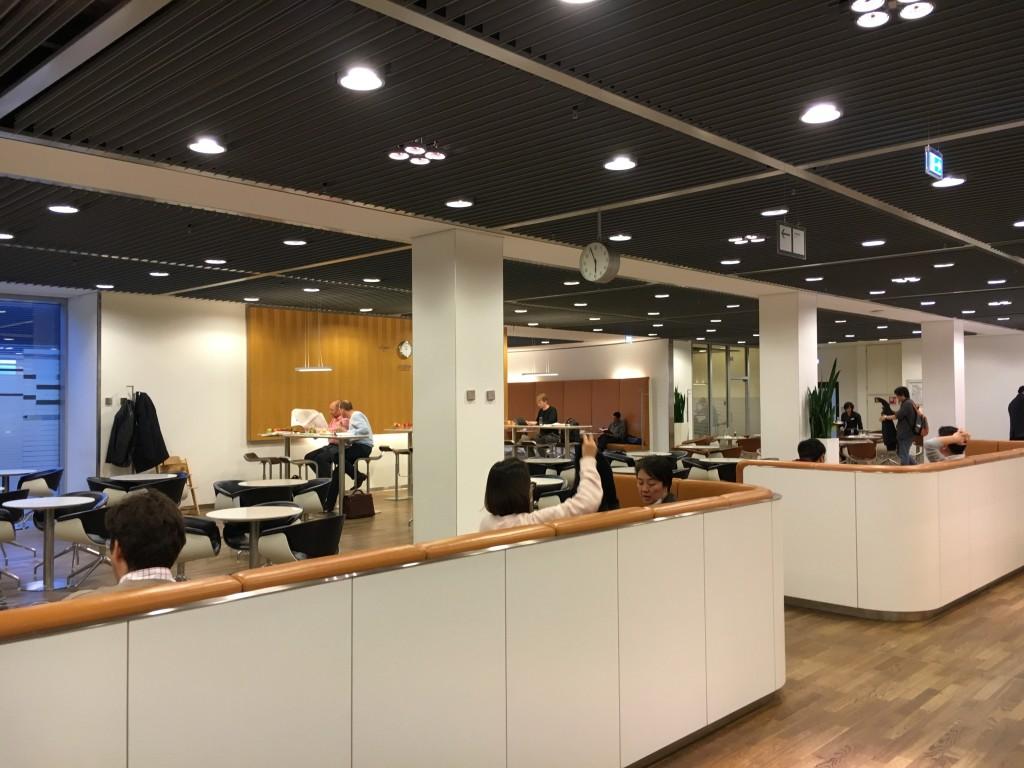 Lufthansa Senator Lounge Frankfurt Terminal 1B - Bistro
