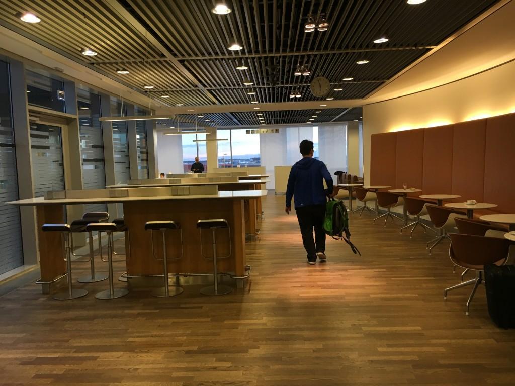 Lufthansa Senator Lounge Frankfurt Terminal 1B - Sitzmöglichkeiten
