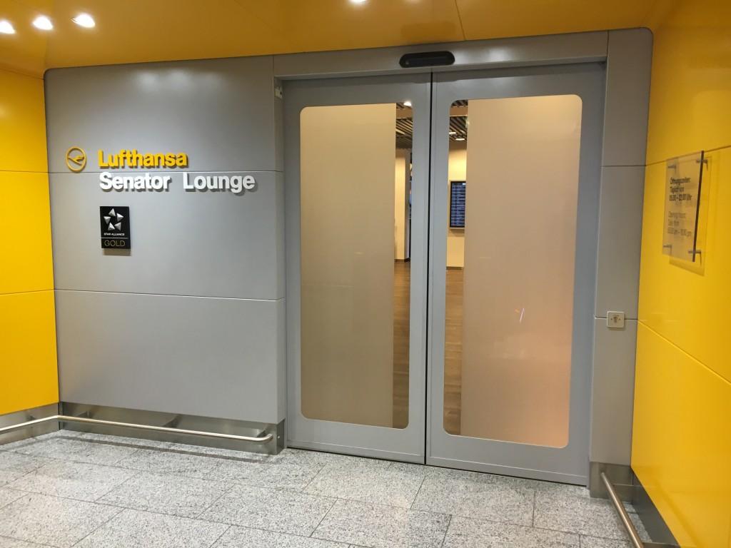 Lufthansa Senator Lounge Frankfurt Terminal 1B - Eingang