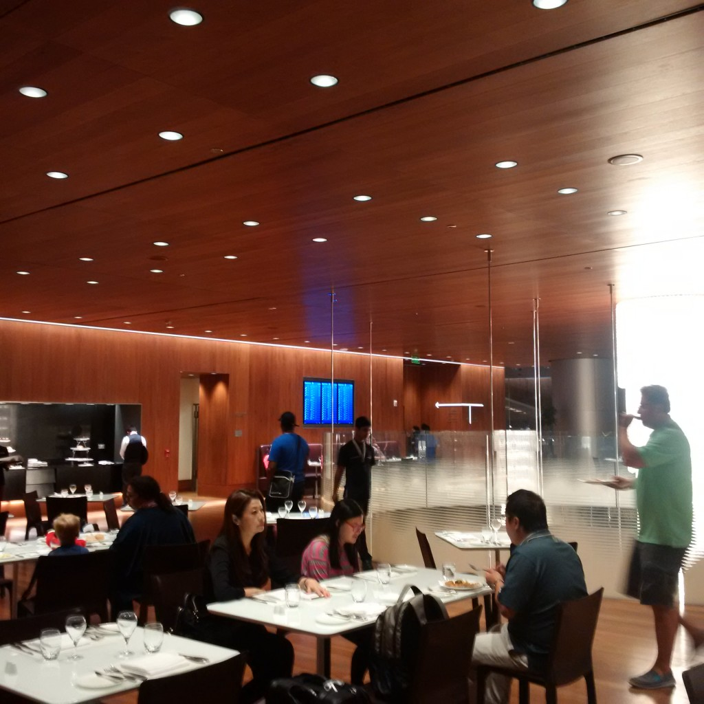 Qatar Airways Business Class Lounge - Restaurant