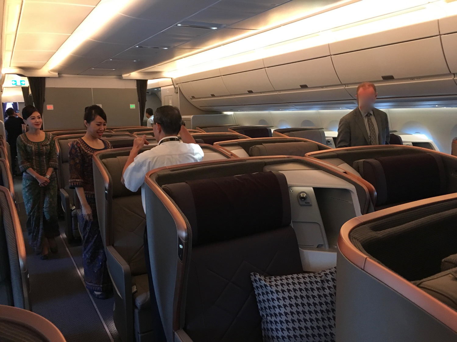 SQ_A350_BusinessClass Kabine___ - 1