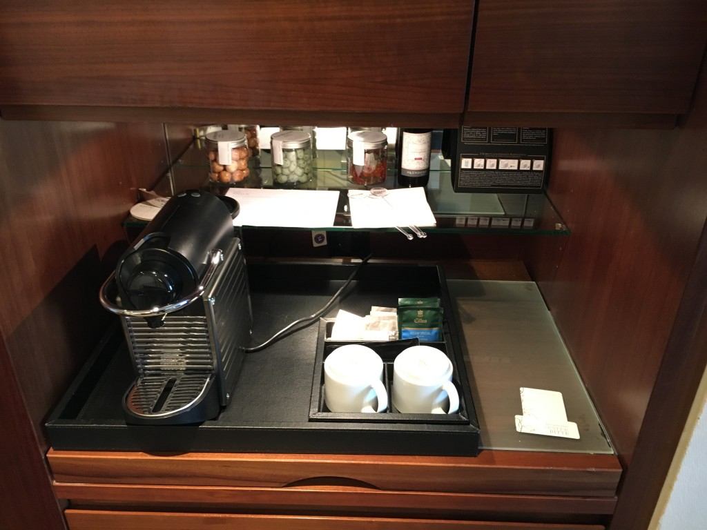 Westin Grand Frankfurt Junior Suite - Kaffeemaschine