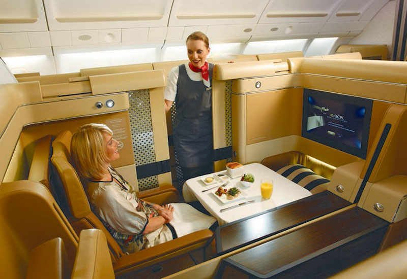Etihad Airways Business und First Class Angebote - First Class
