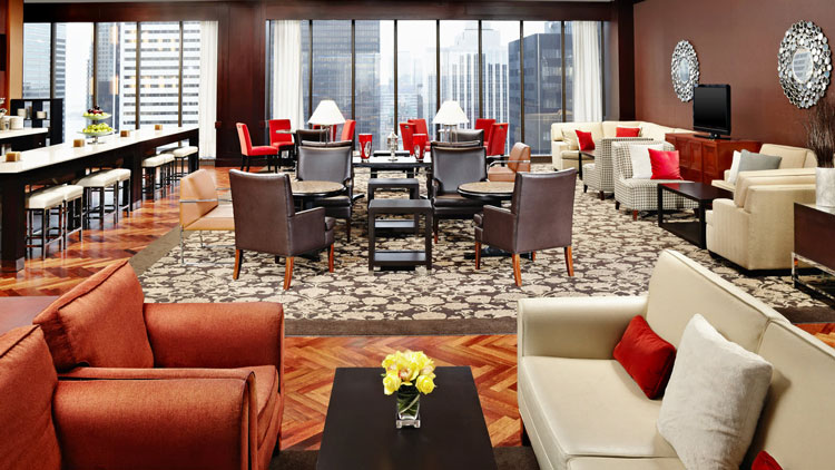 Sheraton Toronto Centre Club Lounge - SPG Hot Escapes
