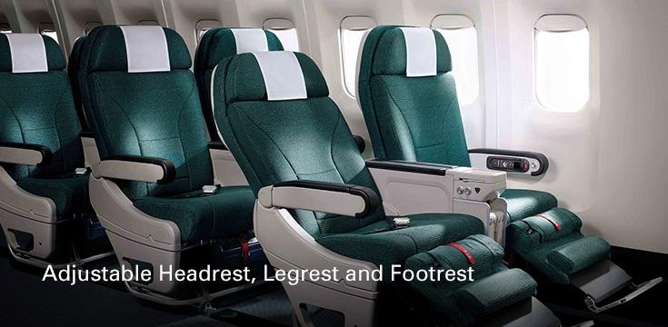 Cathay Pacific Premium Economy Class Angebote - Sitz