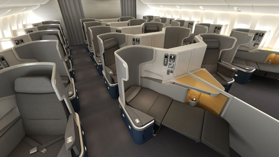 American Airlines Business Class nach Los Angeles