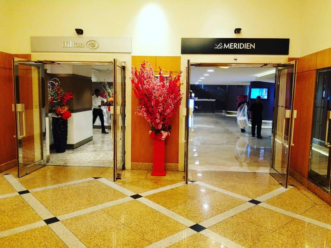 Le Méridien Kuala Lumpur Hoteleingang