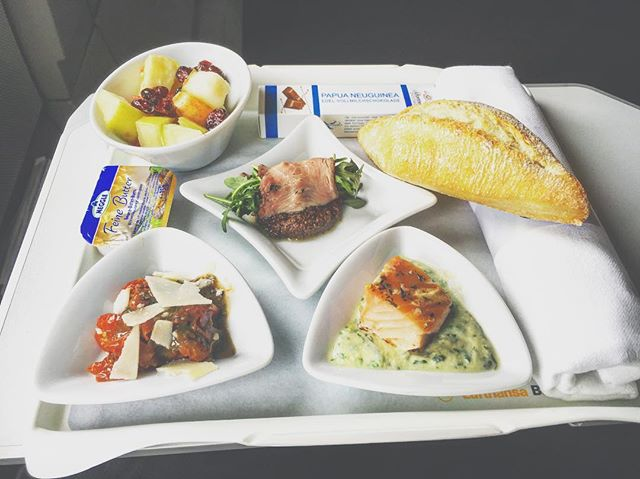 Lufthansa Europa Business Class Angebote Catering