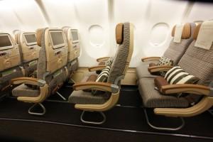 Etihad Airways Gutschein in der Economy Class