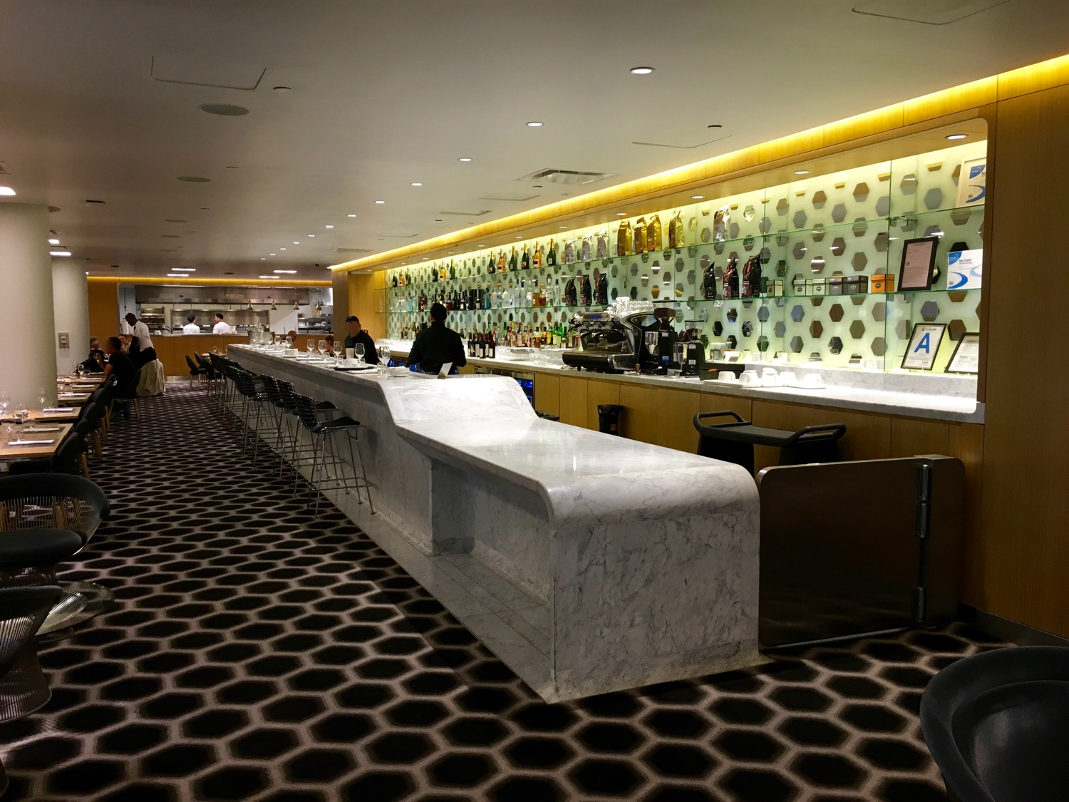 Qantas FirstClass Lounge Bar - 1