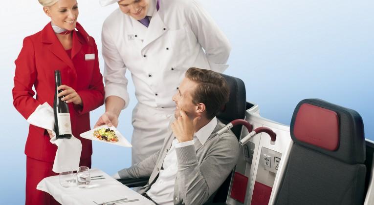Günstige Austrian Airlines Business Class Flüge