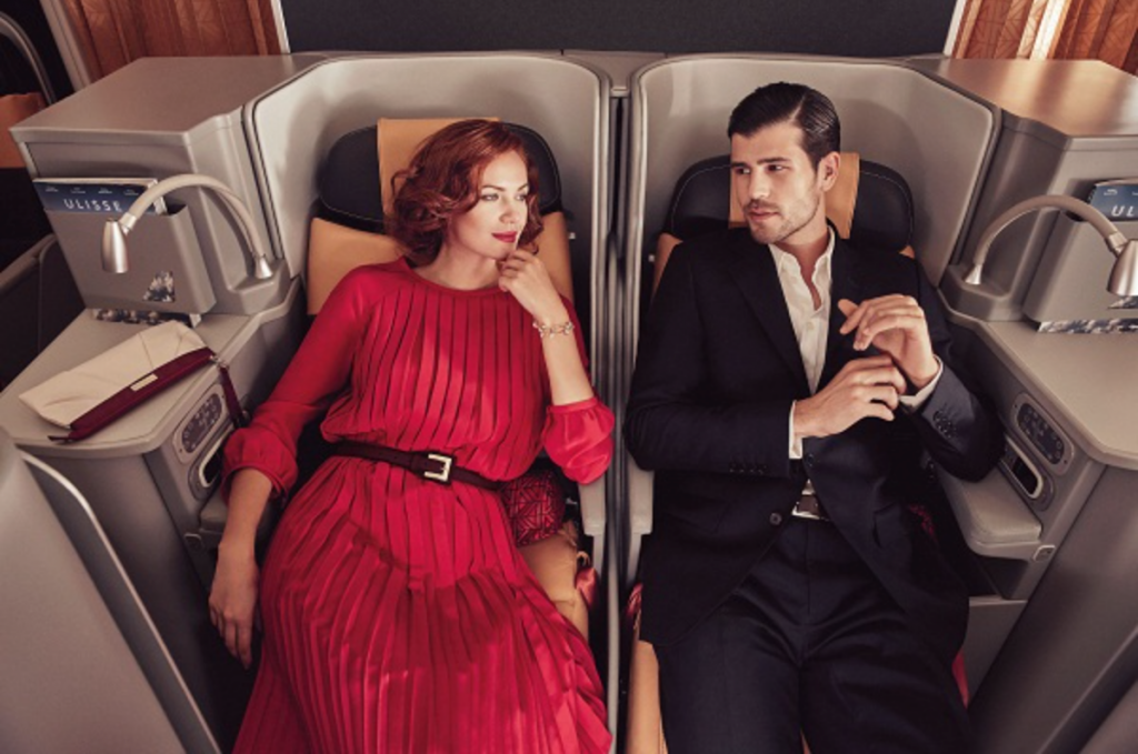 Alitalia Business Class Angebote