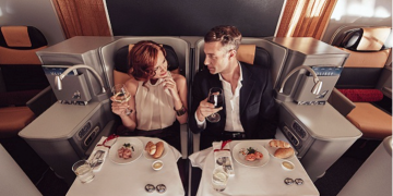 Alitalia Business Class nach Mexiko