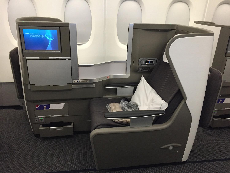 BA A380 Business Class - 1