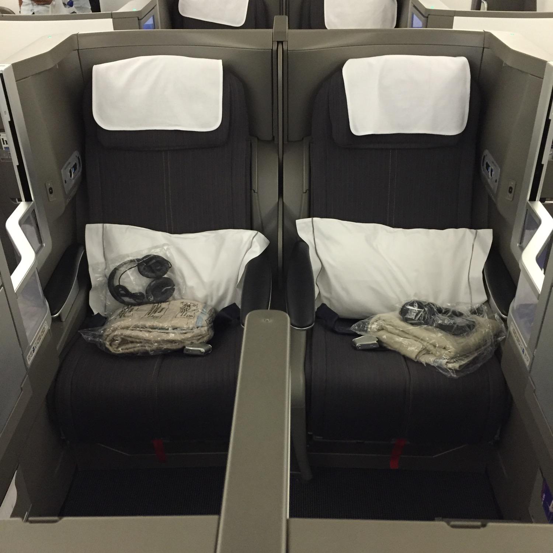 BA A380 Business Class - 10