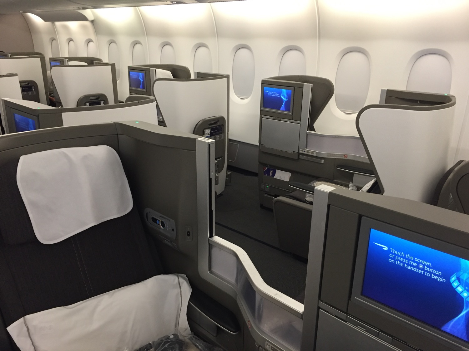 British Airways ClubWorld in dem A380