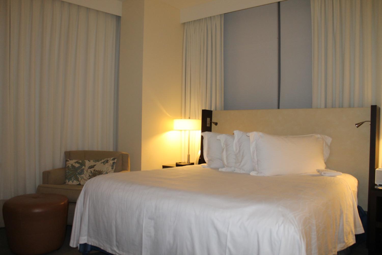 Das Bett im Conrad Miami