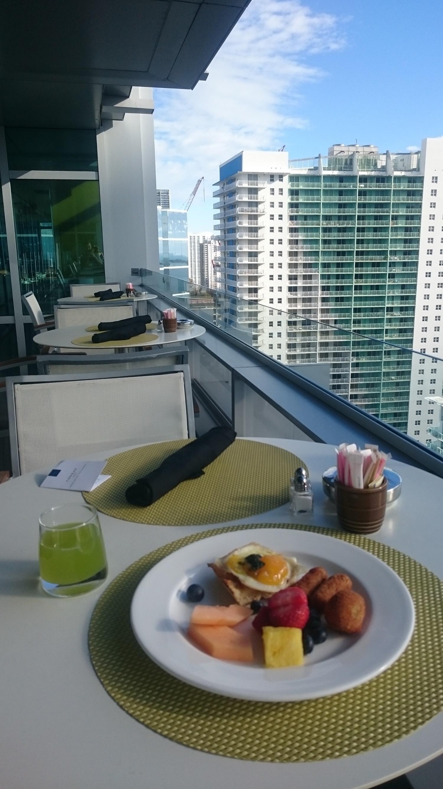Conrad Miami Frühstück - 1