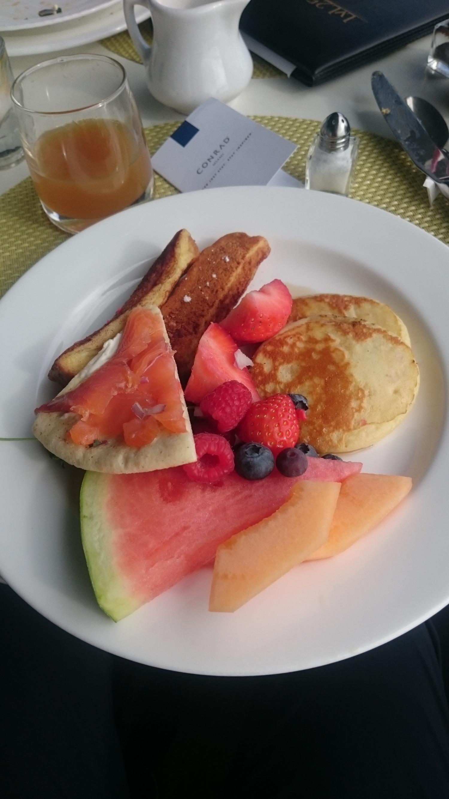 Conrad Miami Frühstück - 2