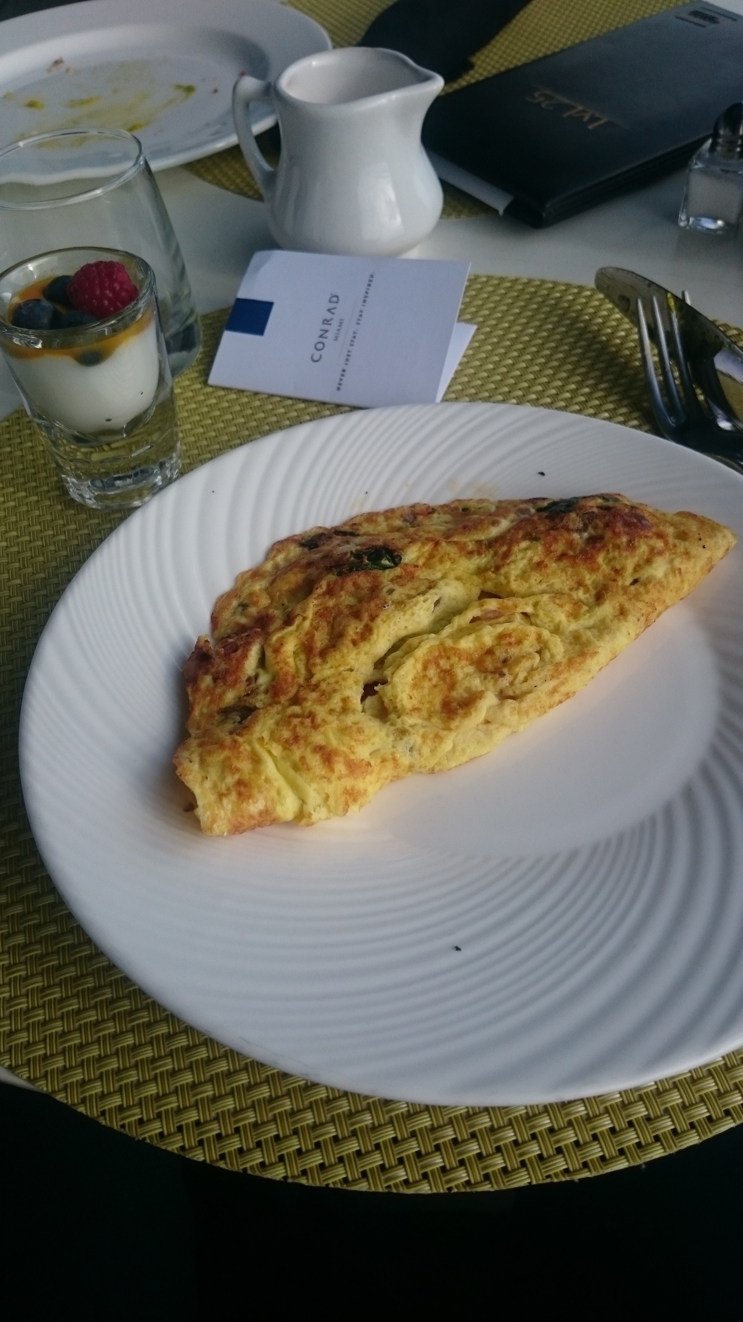 Conrad Miami Frühstück - 3