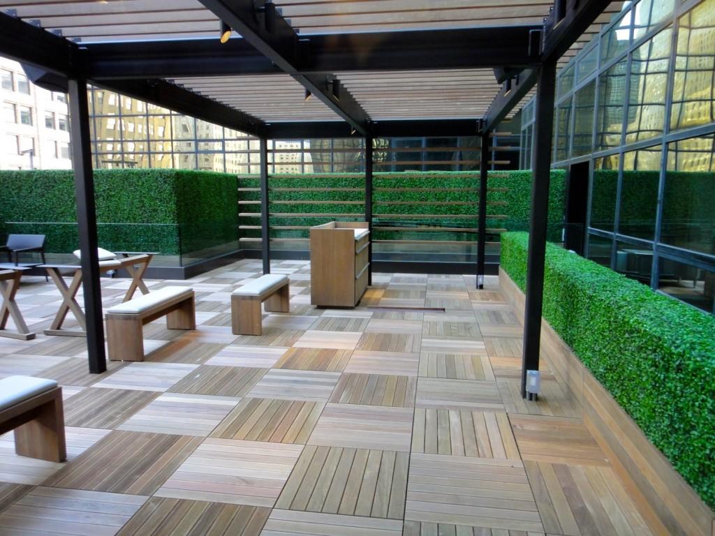 Terasse der Club Lounge im Grand Hyatt New York