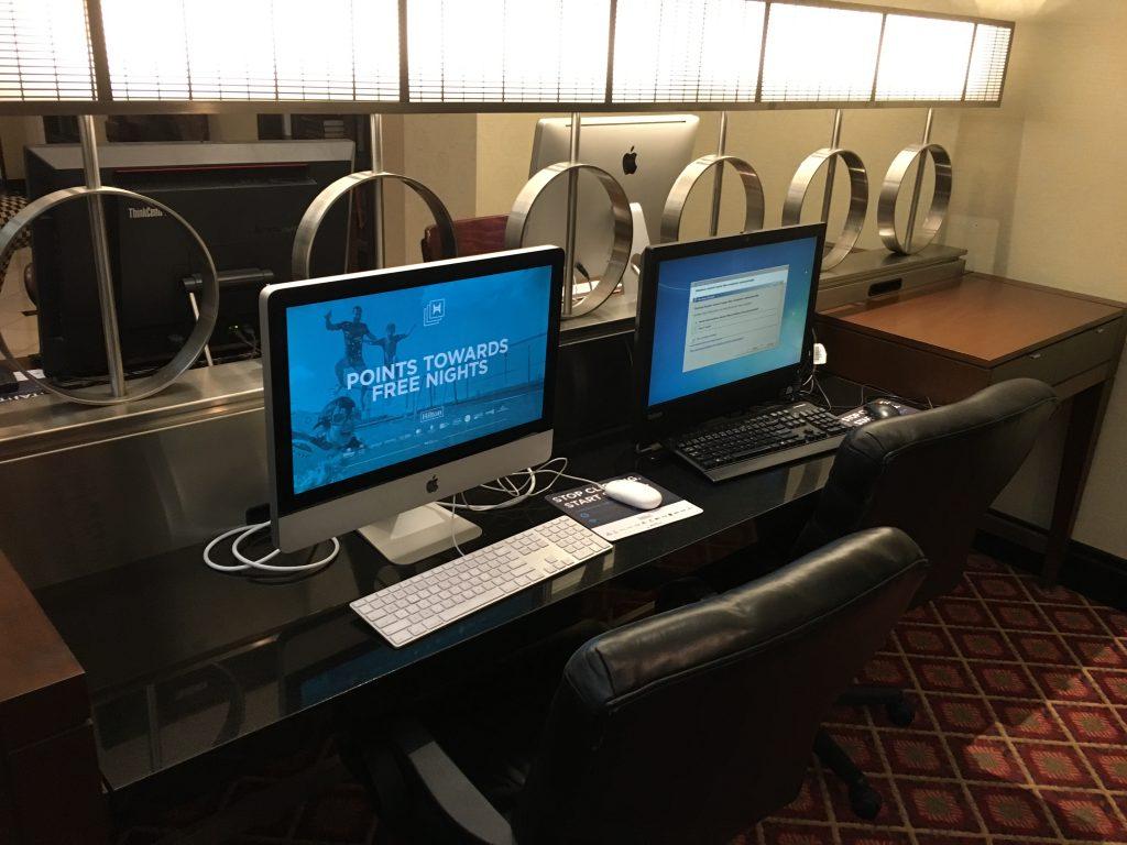 Hilton Cincinnati CVG Airport-Business Center