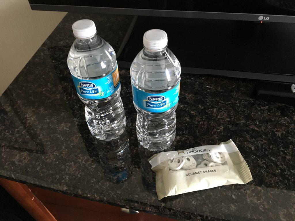 Hilton Cincinnati CVG Airport-Diamond Wasser