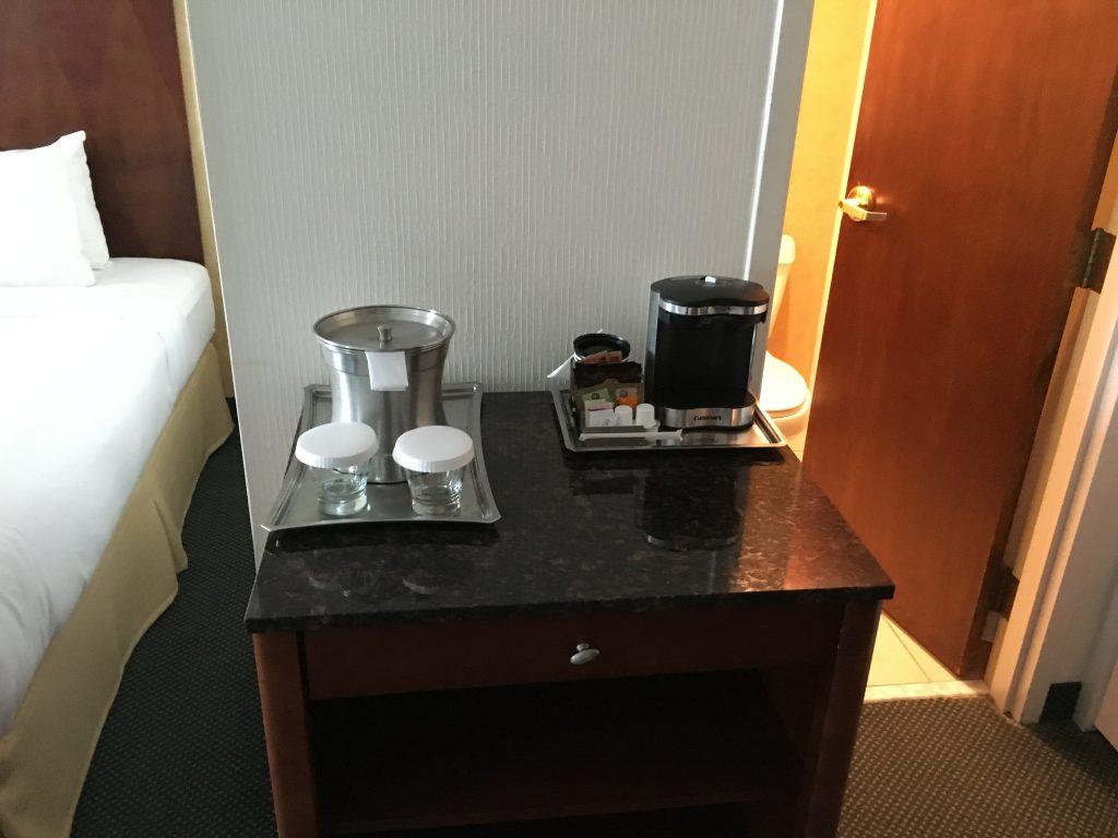 Hilton Cincinnati CVG Airport-Kaffee
