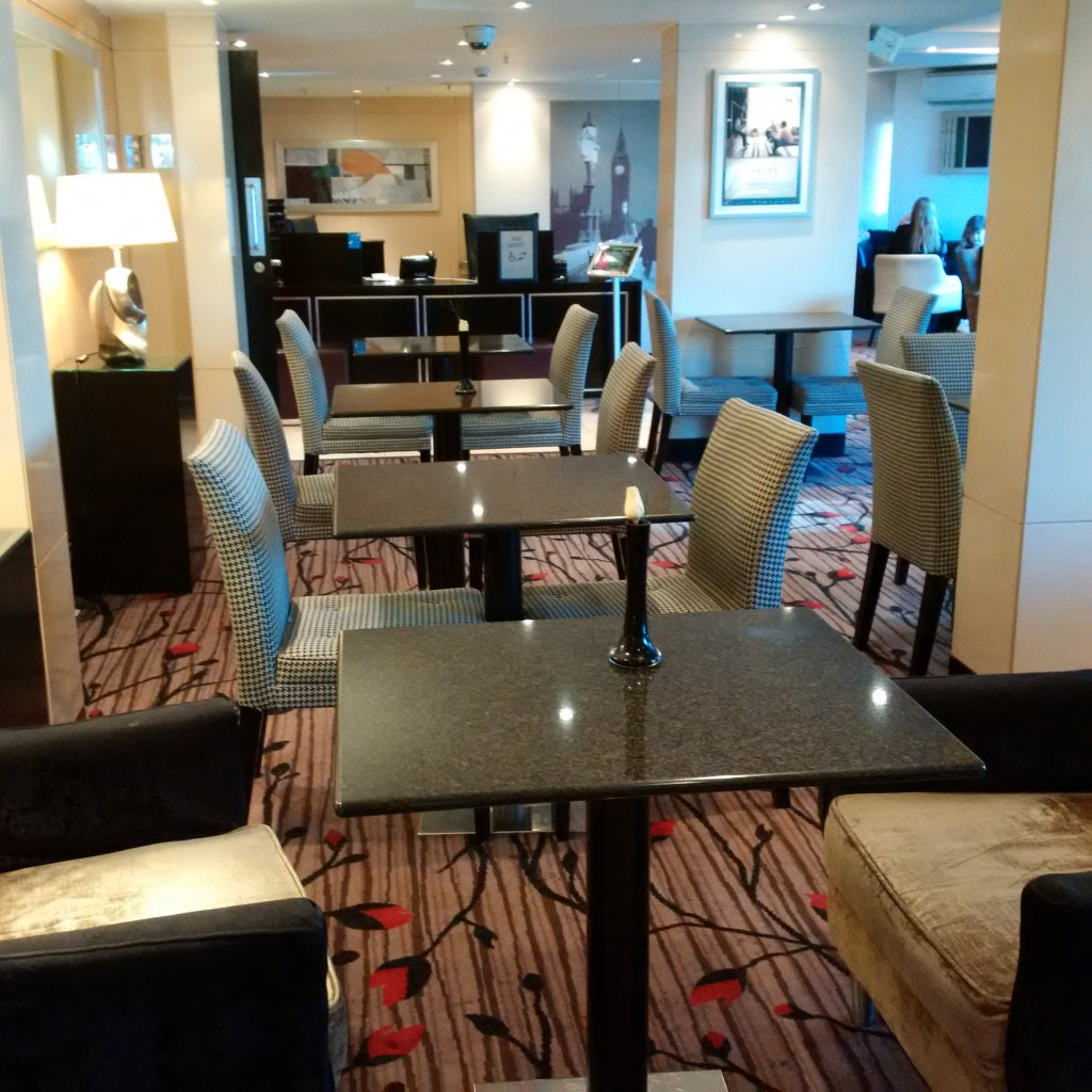 Hilton London Metropole Executive Lounge
