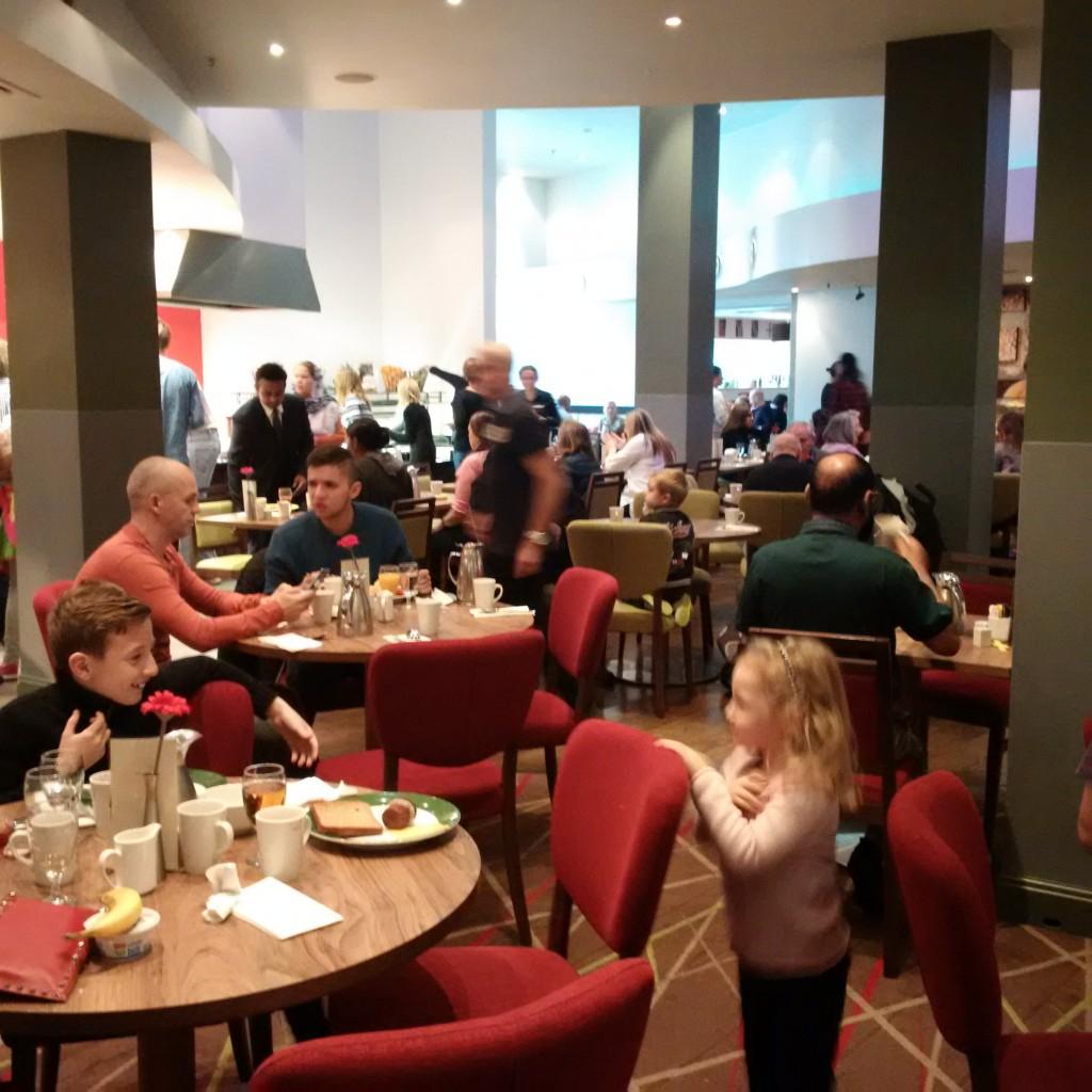 Hilton London Metropole Frühstück