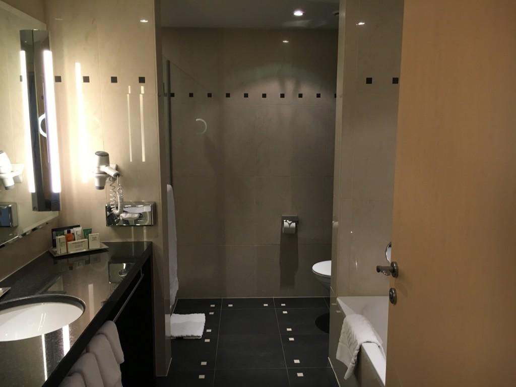 Hilton Wien Penthouse Suite Badezimmer