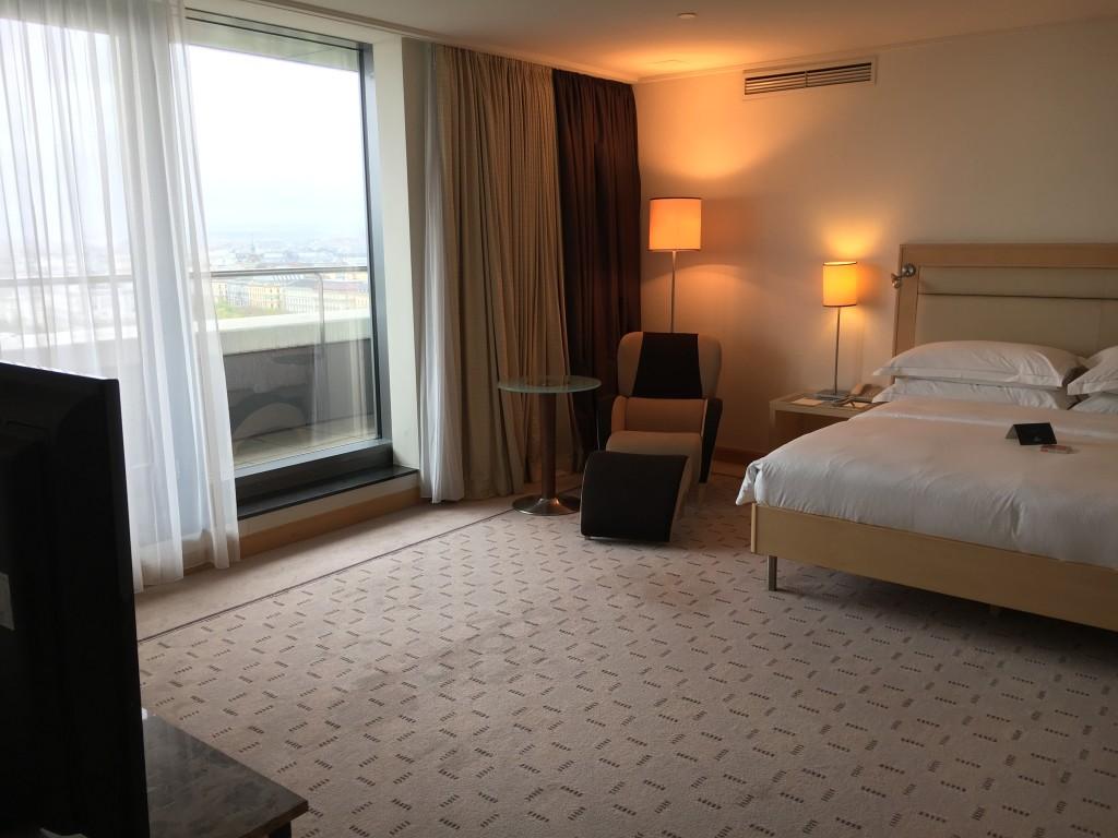 Hilton Wien Penthouse Suite Schlafzimmer