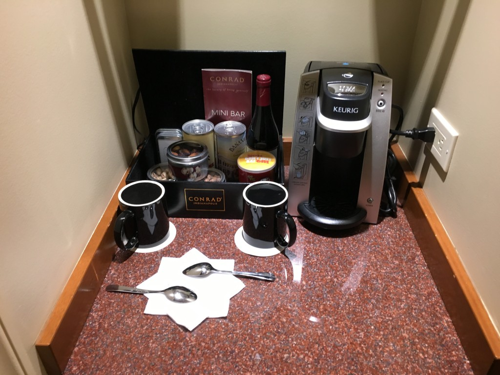 Conrad Indianapolis - Espresso Maschine