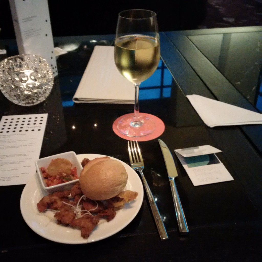 Le Méridien Bangkok Suvarnabhumi Happy Hour in der Bar