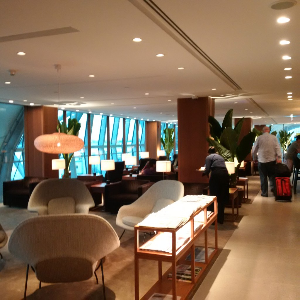 Cathay Pacific Lounge Bangkok