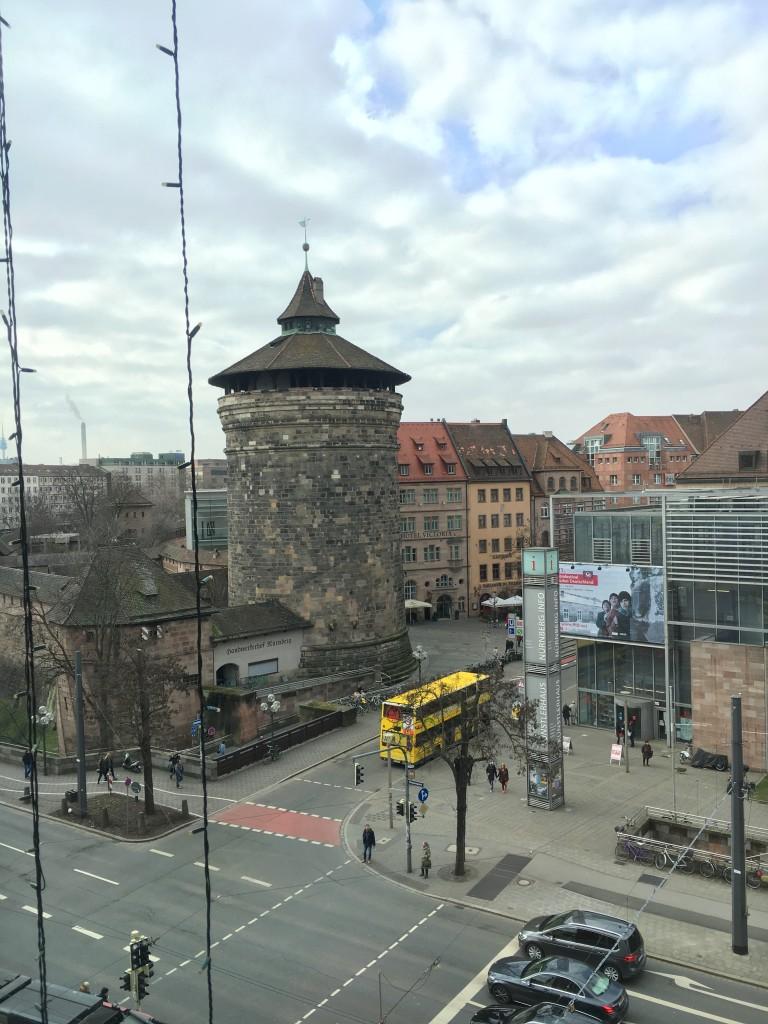 Le Méridien Grand Hotel Nürnberg Ausblick