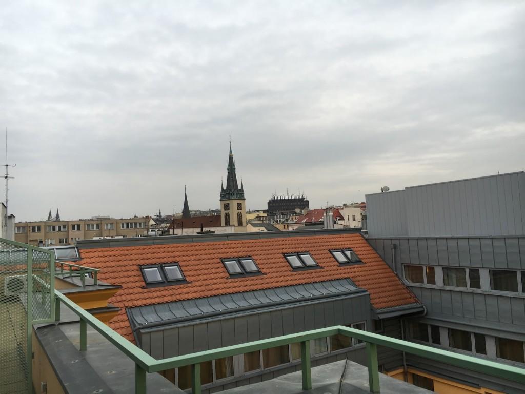 Sheraton Prague Club Premium Suite Terrasse