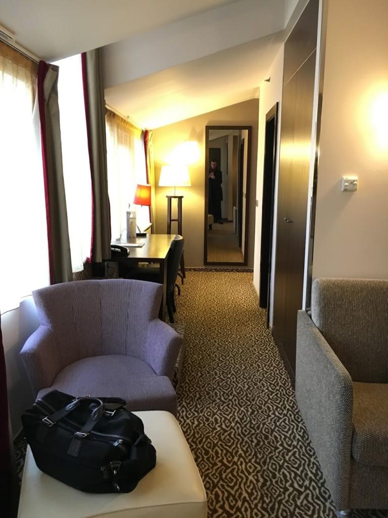 Sheraton Prague Club Premium Suite