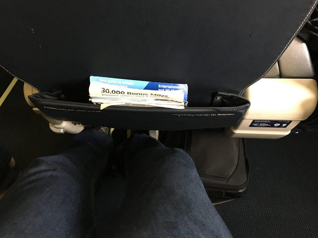 United Express First Class-ERJ175.5