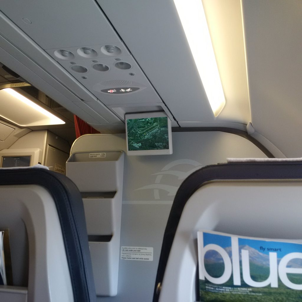 Aegean Airlines Business Class Entertainment