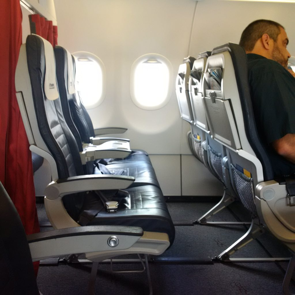 Aegean Airlines Business Class Kabine