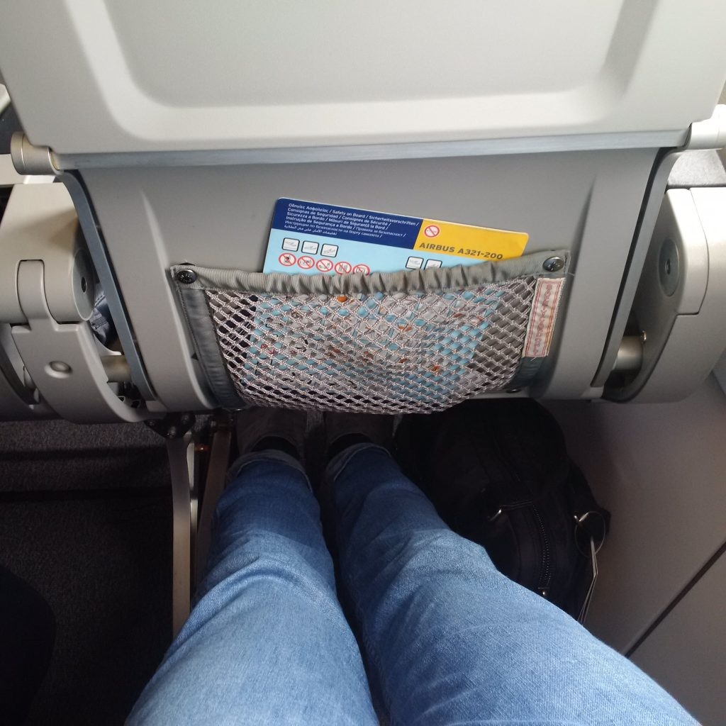 Aegean Airlines Business Class Sitzabstand