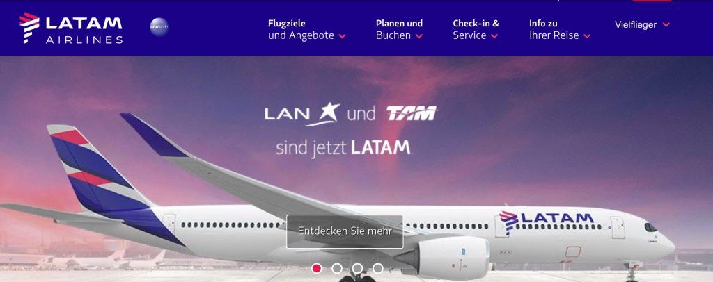 InsideFlyer Wochenrückblick LATAM Business Class Sale