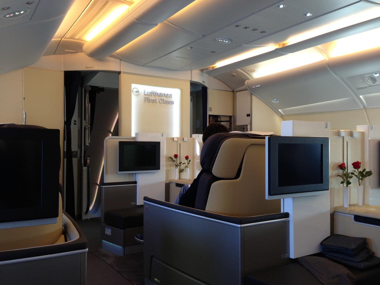 Lufthansa First Class - 1